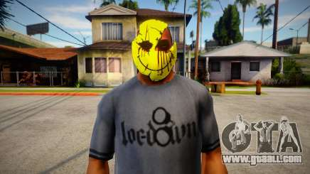 Smiley Mask (GTA Online Diamond Heist) for GTA San Andreas