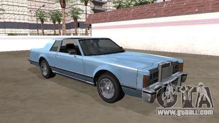 Virgo Continental Targa Version 1 for GTA San Andreas