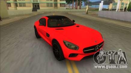 Mercedes-Benz AMG GT FBI for GTA Vice City