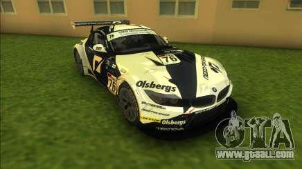 BMW Z4 GT3 for GTA Vice City