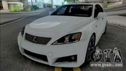 Lexus IS F from NFS Shift 2 for GTA San Andreas