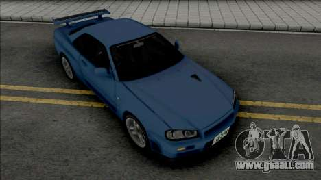 Nissan Skyline GT-R (BNR34) Initial D 4th Stage for GTA San Andreas