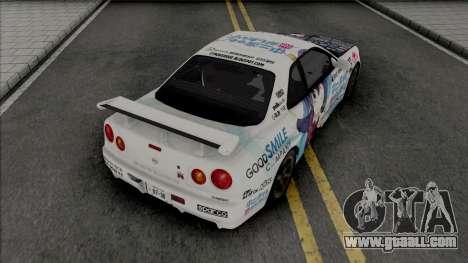 Nissan Skyline GT-R R34 1997 for GTA San Andreas