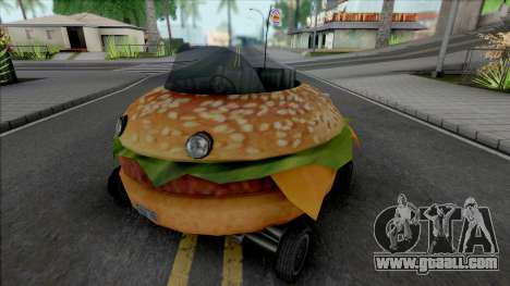 Burger Shot Bunmobile for GTA San Andreas