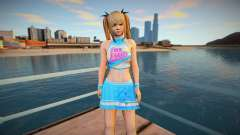 Girl teenage outfit from DOA 5 for GTA San Andreas