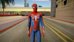 Spider-Man Advanced Suit from Spiderman PS4 for GTA San Andreas