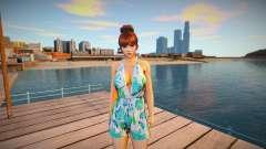 Kasumi Casual Summer for GTA San Andreas