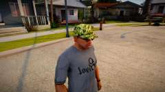 Camouflage cap for GTA San Andreas