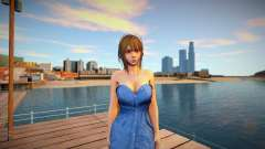 Misaki Denim Dress for GTA San Andreas