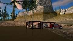 Swamp cabin safehouse