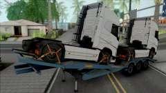 Transporter Cargo Truck Trailer