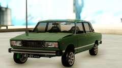 Vaz 2107 Old Jiguli for GTA San Andreas