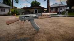 HQ AK-47 V2.0 for GTA San Andreas