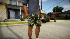 Camouflage shorts for GTA San Andreas