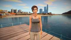 Lara Croft from Rise of the Tomb Raider for GTA San Andreas