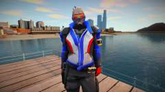 Soldier 76 From Overwatch for GTA San Andreas