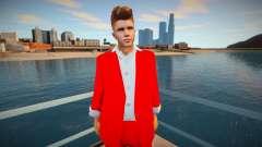 Justin Bieber Skin for GTA San Andreas