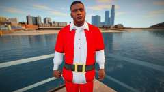 Franklin in a Christmas suit for GTA San Andreas
