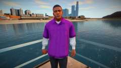 Franklin in a purple shirt for GTA San Andreas