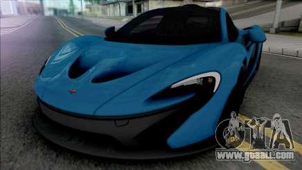 McLaren P1 2014 [Fixed] for GTA San Andreas