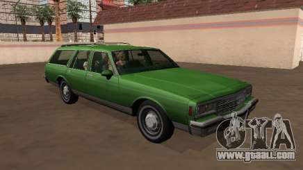 Chevrolet Impala 1984 Station Wagon for GTA San Andreas