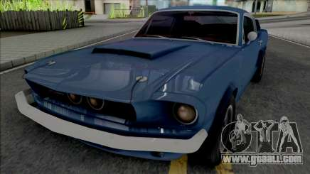 Shelby GT500 1967 [Fixed] for GTA San Andreas