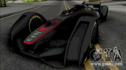 McLaren MP4-X for GTA San Andreas