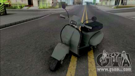Faggio Michelle Works for GTA San Andreas