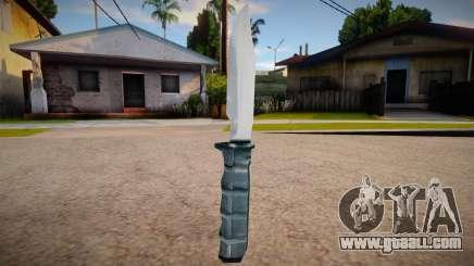 New knife (good textures) for GTA San Andreas