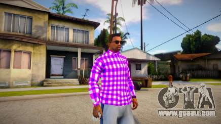 Ballas shirt for GTA San Andreas