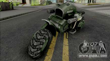 GTA Halo UNSC Bike GGM Conversion for GTA San Andreas