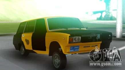 Vaz 2104 Autosh Avara Gagash for GTA San Andreas