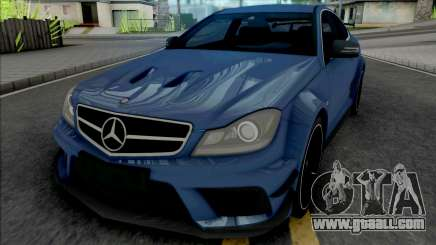 Mercedes-AMG C63 Black Series for GTA San Andreas