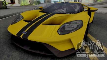 Ford GT (SA Lights) for GTA San Andreas