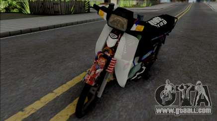 Honda EX5 Hitam for GTA San Andreas