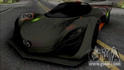 Mazda Furai [Fixed] for GTA San Andreas
