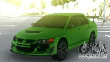 Mitsubishi Lancer Evo IX 06 for GTA San Andreas