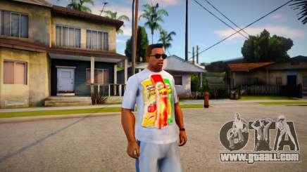 T-shirt Pringles for GTA San Andreas