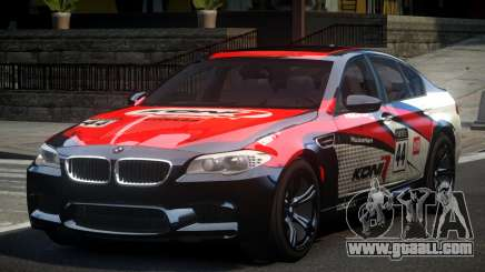 BMW M5 F10 PSI-R S4 for GTA 4