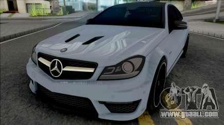 Mercedes-Benz C63 AMG Edition 2014 (SA Lights) for GTA San Andreas
