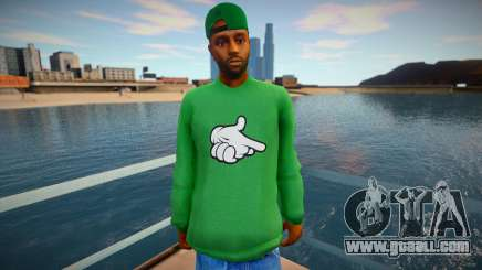 Kanye West Sweet for GTA San Andreas