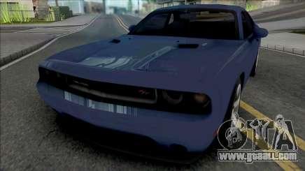Dodge Challenger RT 2012 for GTA San Andreas