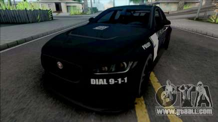 Jaguar XE SV Project 8 2017 Police for GTA San Andreas