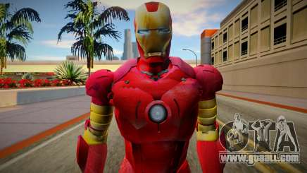 Iron Man Skin HQ for GTA San Andreas