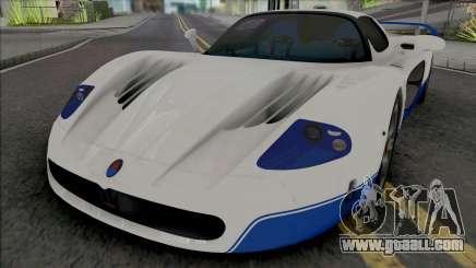 Maserati MC12 [HQ] for GTA San Andreas