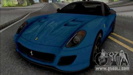 Ferrari 599 GTO [Fixed] for GTA San Andreas