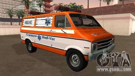 Dodge Tradesman B-200 1976 Ambulance for GTA San Andreas