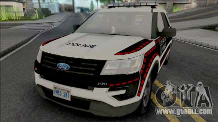 Ford Explorer 2016 Bosnian Livery Style for GTA San Andreas