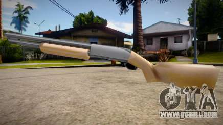Chromegun HD (good textures) for GTA San Andreas