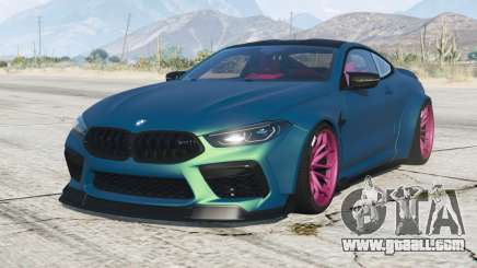 BMW M8 Competition coupe Mansaug (F92) 2019 v2.1 for GTA 5